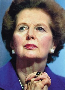 Iron Lady of Great Britain